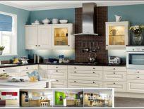 Tủ Bếp Gỗ Ash Mẫu 33