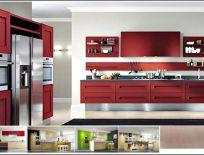 Tủ Bếp Gỗ Sồi Tự Nhiên Mẫu 31