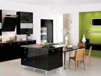 Mẫu Tủ Bếp Acrylic Châu Âu Hiện Đại Số 3