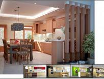 Tủ Bếp Gỗ Xoan Đào Mẫu 13