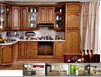 Tủ Bếp Gỗ Xoan Đào Mẫu 11