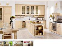 Tủ Bếp Có Bàn Đảo Thiết Kế Cổ Điển 11
