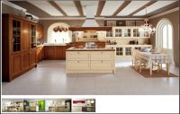 Tủ Bếp Có Bàn Đảo Thiết Kế Cổ Điển 13