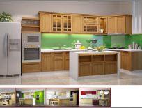 Tủ Bếp Có Bàn Đảo Mẫu 15