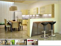 Tủ Bếp Có Quầy Bar 12