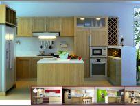 Tủ Bếp Gỗ Sồi 18