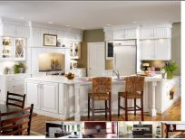 Tủ Bếp Gỗ Sồi Mẫu 16
