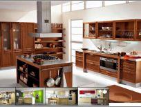 Tủ Bếp Gỗ Xoan Đào Mẫu 16