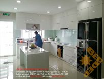 Trọn Bộ Nội Thất Tủ Bếp Nhựa Acrylic Nhà Chị Phượng - Q1 - HCM