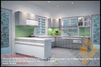 Tủ Bếp Nhựa PVC Acrylic Nhà  Cô Sương