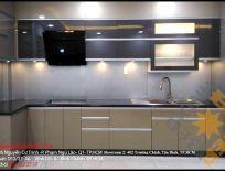 Nghiệm Thu Tủ Bếp Nhà Anh Hoan- Q7 TpHCM