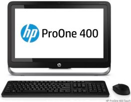 "HP ProOne 400 G1, 19.5"" (1600x900), i5-4570T,HDD 500GB, Ram 4GB, , DVD-RW, Webcam, Windows 7/8."