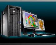 HP Z800 Workstation 02 CPU Xeon E5520 2.26Ghz/8 lõi/16 luồng/32GB/SSD 120GB/HDD 1TB/AMD-FIREPROW2100 2GB, New 100%