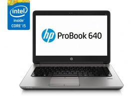 HP ProBook 640 G1, Màn hình 14''HD,  Core i5-4310M, HDD 500GB, Ram 4GB,  Webcam