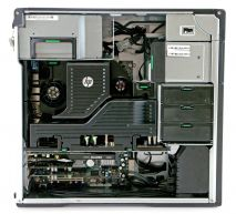 HP Z620 Workstation, 2 x E5-2650 2.0GHZ/32 CPU/16 GB/1TB/SSD 120GB, Quadro 4000 2GB