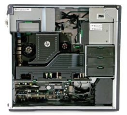 HP Z620 Workstation, 2 x E5-2650 2.0GHZ/32 CPU/16 GB/1TB/SSD 120GB, Quadro 4000 2GB