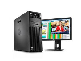 HP Z640 WORKSTATION; 02 x E5-2630V4 2.20 GHz/40 CPU/32 GB/SSD 192GB/2 TB/Quadro M2000 4GB, HP New Outlet