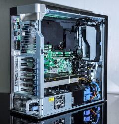 Dell Outlet New Precision T7810; 02 x E5-2620V3 2.4GHz/24 CPU/32GB/SSD 192GB/HDD 2TB/Quadro K5000 4GB
