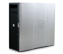 HP Z620 Workstation, 2  x E5-2660V2 2.2GHZ/40 CPU/16 GB/1 TB/SSD 120GB/Quadro K4000 3GB