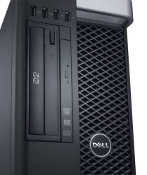 Dell Precision T5610, 2 x Xeon E5-2620V2 2.1GHz/24 CPU/16 GB/HDD 1TB/SSD 128GB/Quadro 4000 2GB