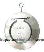 """Van một chiều bản lề Inox SUS 304, PN 16, CF8, DN 100, (4"""" inch ) Hàn Quốc ( Check valve ) kẹp bích"""