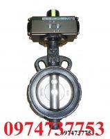Van bướm điều khiển khí nén DN 1000/ Van bướm DHC Đầu khí nén SY PA HP ADOHA DN 1000