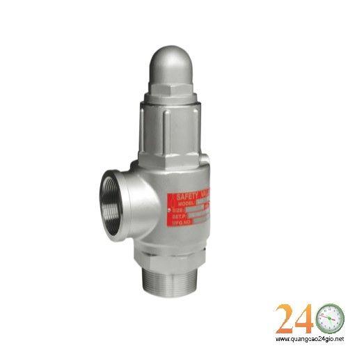Van giảm áp HITEC DN 15/ Van an toàn dùng cho nước SHIN YI đồng ren phi 21