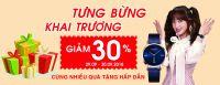 Tưng bừng khai trương Showroom Đồng Hồ Julius thứ 3 tại Việt nam - Giảm giá 30%