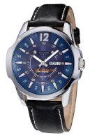 Đồng hồ nam JULIUS JU005 dây da (đen)