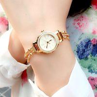 Đồng hồ nữ julius JA809 dây thép (vàng)