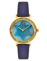 Đồng hồ nữ JULIUS JA823 dây da (xanh)