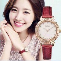 Đồng hồ nữ JULIUS JU0057 dây da (đỏ)