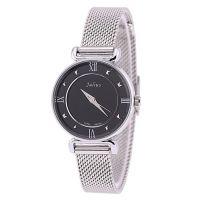 Đồng hồ nữ JULIUS dây thép JA-728  (Mặt đen)