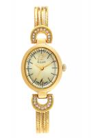 Đồng hồ nữ julius Ju0036 dây thép (vàng)