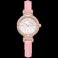 Đồng hồ nữ JULIUS dây da JA779 (hồng)