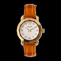 Đồng hồ nữ JULIUS JU594 dây da (nâu)