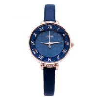 Đồng hồ nữ JULIUS JA-869 dây da (xanh)