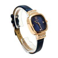 Đồng hồ nữ JULIUS JA863 dây da (xanh)