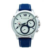 Đồng hồ nam 6 kim JULIUS JAH-055 dây da (xanh)