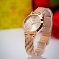 Đồng hồ nữ JULIUS JA-732 dây thép (vàng đồng) - SIZE 28