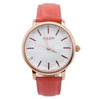Đồng hồ nữ JULIUS JA888 dây da (hồng cam) - size 38
