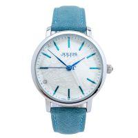 Đồng hồ nữ JULIUS JA888 dây da (xanh da trời)