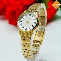 Đồng hồ nữ JULIUS JA-872 dây thép (vàng)