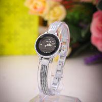 Đồng hồ nữ JULIUS JA559 dây thép (mặt đen) - size 26