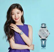 Đồng hồ nữ JULIUS JA945 dây da (xanh ngọc)
