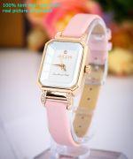 Đồng hồ nữ JULIUS JA951 dây da (hồng)