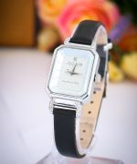 Đồng hồ nữ JULIUS JA951 dây da (đen)