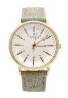 Đồng hồ nữ JULIUS JA910 dây da (xám)