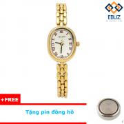 Đồng hồ nữ JULIUS JA861 dây thép (vàng)