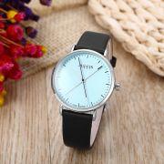 Đồng hồ nữ JULIUS Hàn QUốc JA978 dây da xanh đen